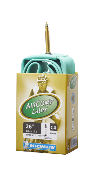 Camara MTB Michelin C4 Aircomp Latex 26 pulgadas